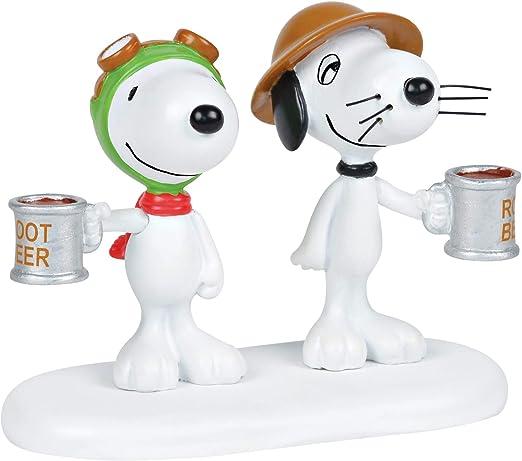 Dept 56 Peanuts Village Snoopy/'s Root Beer Café