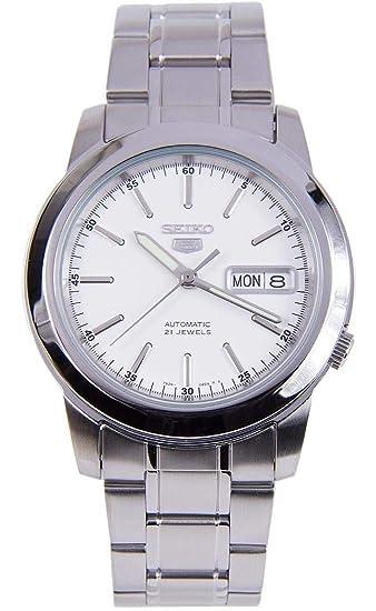 Seiko De los hombres Watch 5 Automatic Reloj SNKE49K1: Amazon.es: Relojes