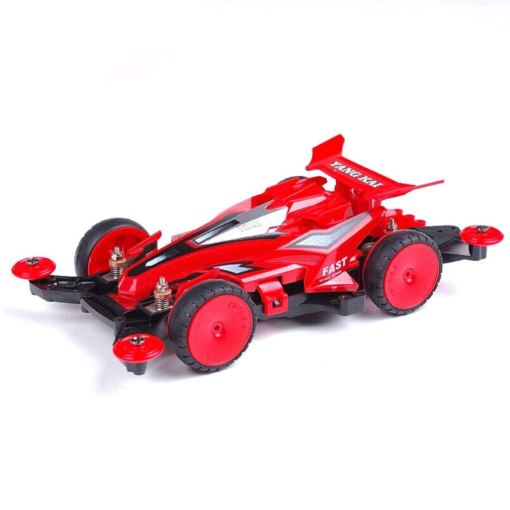 3 Track Racing Toy , Kinderauto-Spiel, Allradantrieb Engineering Racing Toy - Elektro-Spielzeug für Kinder (Farbe   3)