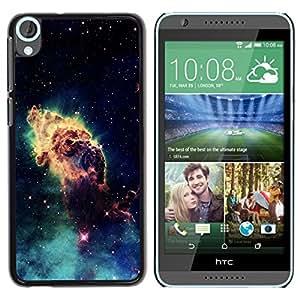 LECELL -- Funda protectora / Cubierta / Piel For HTC Desire 820 -- Space Planet Galaxy Stars 46 --