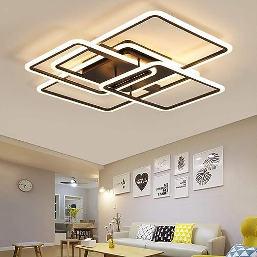 Pan&Pan Luminaria de LED para Sala de Estar empotrada en el Techo ...