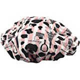Betty Dain Socialite Collection Terry Lined Shower Cap, Boudoir, 4.32 Ounce