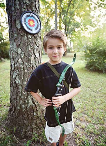 61ga8 gb2nL - Sunny Days Entertainment Maxx Action Hunting Series Toy Archery Bow & Arrow Set with Target and Accessories