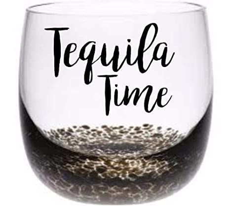 Home Décor Items 6 x Tequila Time Vinyl Decal Wine Tumbler Drinking Glass stickers Wall Decals & Stickers