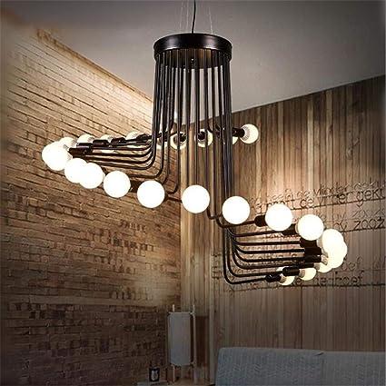 Lámparas De Araña Retro Simple Colgante Araña Loft 26 ...