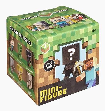 Minecraft - Mini Figuras Sorpresa (Mattel CJH36): Amazon.es: Juguetes y juegos