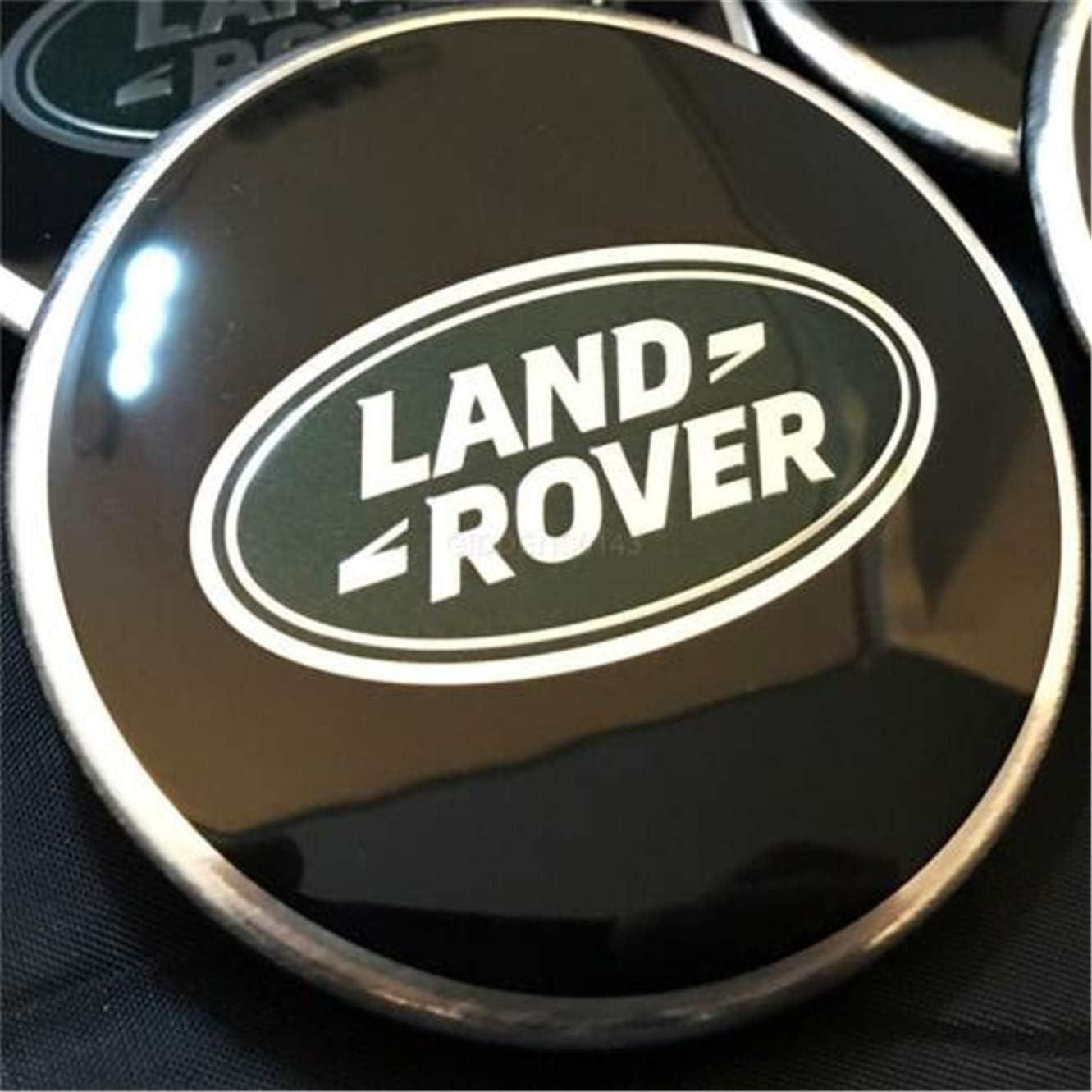 X1 Originale Land Range Rover Sport Vogue Nero Cerchio Centro Ruota cap Scoperta