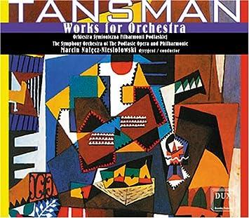 Risultati immagini per Tansman dux cd orchestral