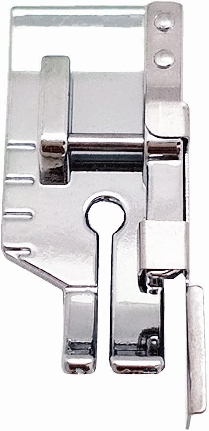 Brother Janome New Home Babylock Simplicity Fits All Low Shank Snap-On Singer Kenmore Elna Juki White YEQIN 1//4 Quilting Patchwork Sewing Machine Presser Foot with Edge Guide Euro-Pro