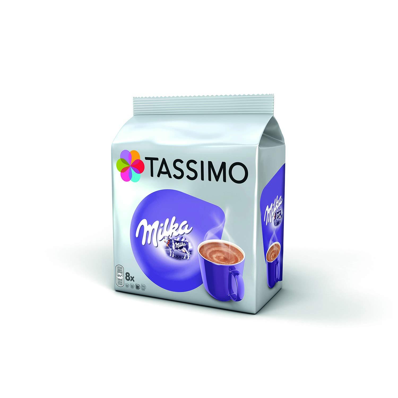 Tassimo Milka Hot Chocolate 8 T Discs Pack Of 5 Total 40 T Discs 40 Servings
