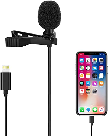 ASMR Microphone Mic iPhone YouTube Podcast Condenser Desktop PC Laptop Tablet