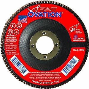 SAIT 78005 Ovation Flap Disc, 10-Pack