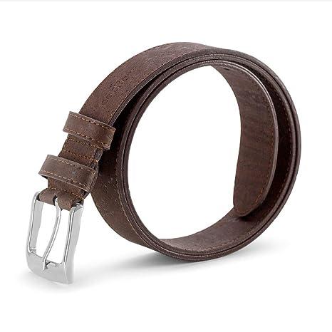 Vegan leather belt made of cork