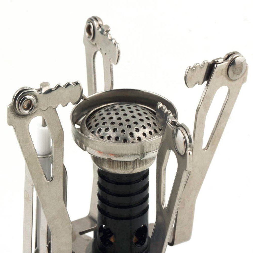 New Portable Outdoor Picnic Gas Foldable Camping Mini Aluminum Alloy Gas Stove by Isguin (Image #4)