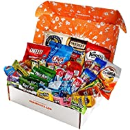 Gift Care Package with Individual Snack Bags, Variety Pack Snacks, Food Gifts