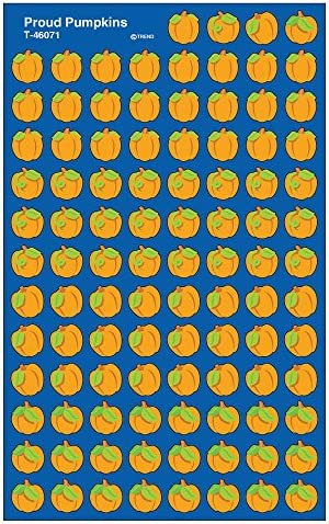 Trend Enterprises Proud Pumpkins Super Shapes Stickers 800 Piece Multi Toys Games