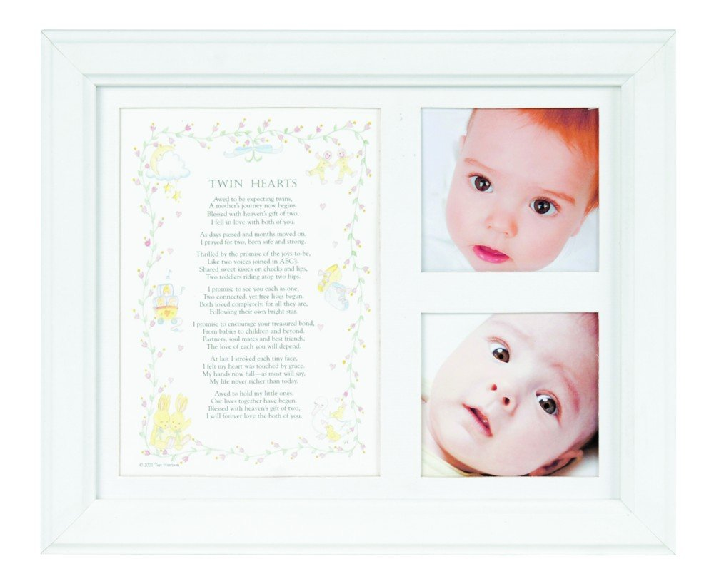 The Grandparent Gift Photo Frame, Twin Hearts The Grandparent Gift Co. 1037