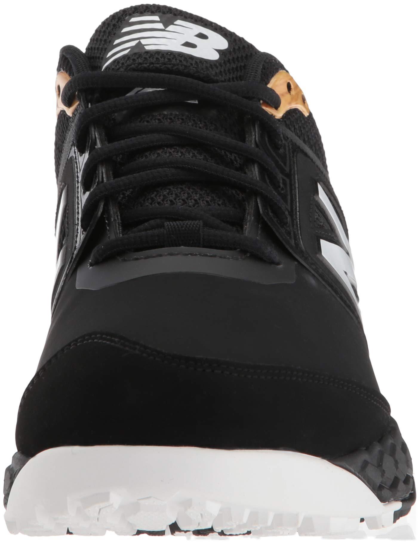 New Balance Men's 3000v4 Turf Baseball Shoe, Black, 5 D US by New Balance (Image #4)