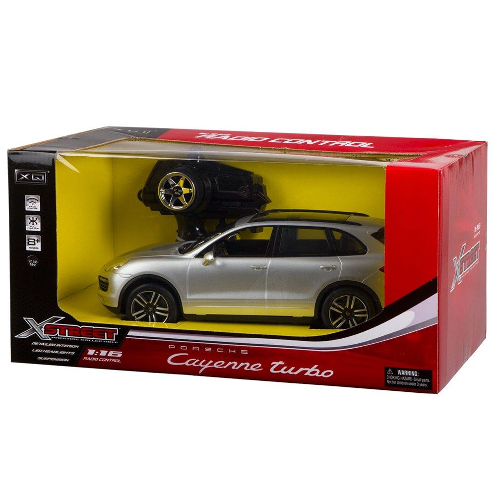 Color Baby - Coche con radiocontrol, Porsche Cayenne 1:16 (40447): Amazon.es: Juguetes y juegos