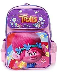 Dreamworks Trolls Poppy 16 Large Girls School Backpack