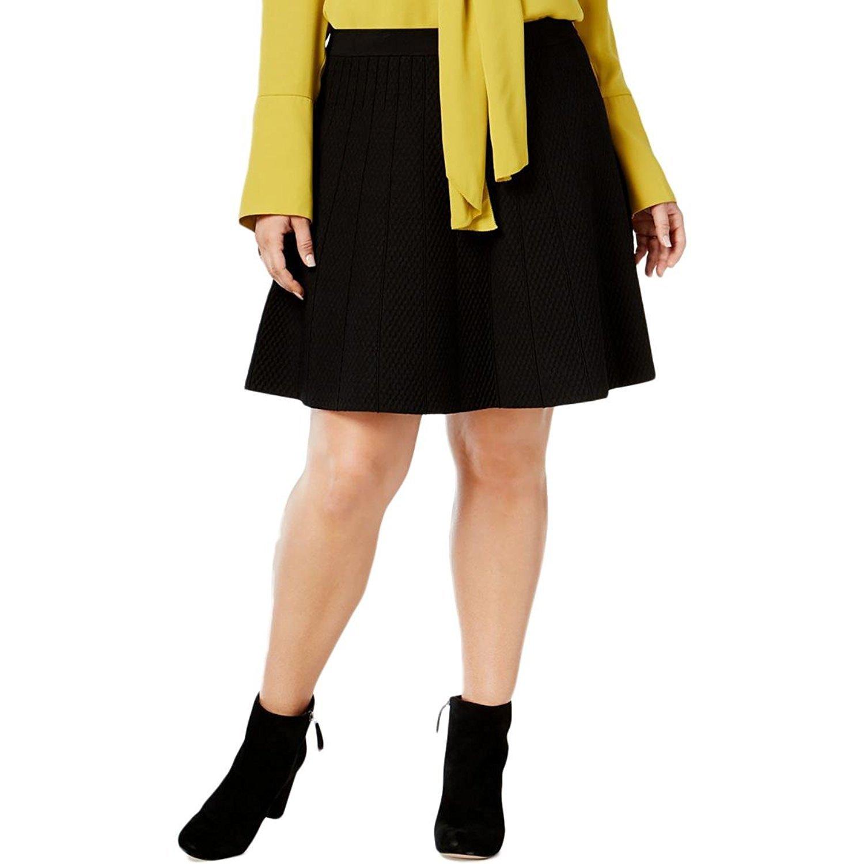 Rachel Rachel Roy ブラック SKIRT レディース 2X B07791C5X5 2X|ブラック ブラック 2X, ジュエリー&ウォッチ コパル:0da7ae25 --- cerkal.com.br