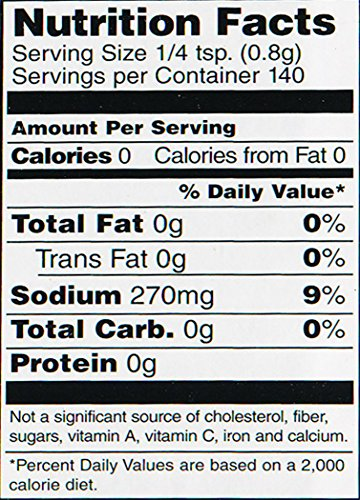 Jane's Krazy Mixed Up Salt, 4-Ounce Unit (Pack of 12) by Jane's Krazy (Image #1)