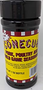 Conecuh Pork, Poultry, and Wild Game Seasoning, 7 Ounce Bottle, from makers of Conecuh Sausage Company