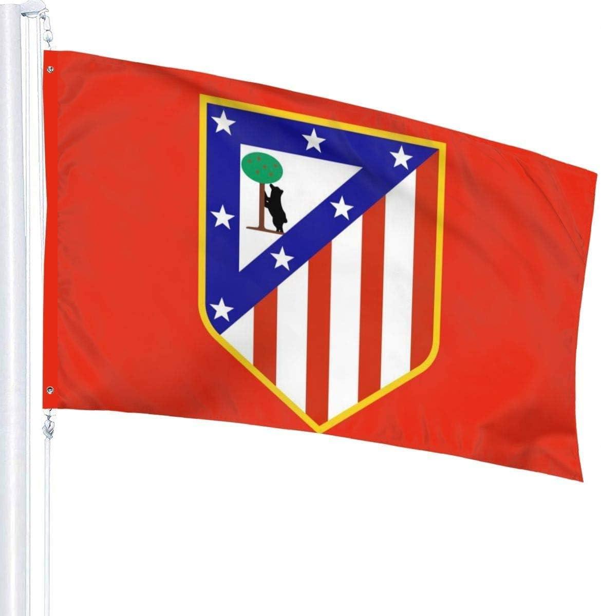 Atletico Madrid Vs Valencia Flags 3x5 Feet Garden House Outdoor Banners Decorative Flag Viplili Banderas