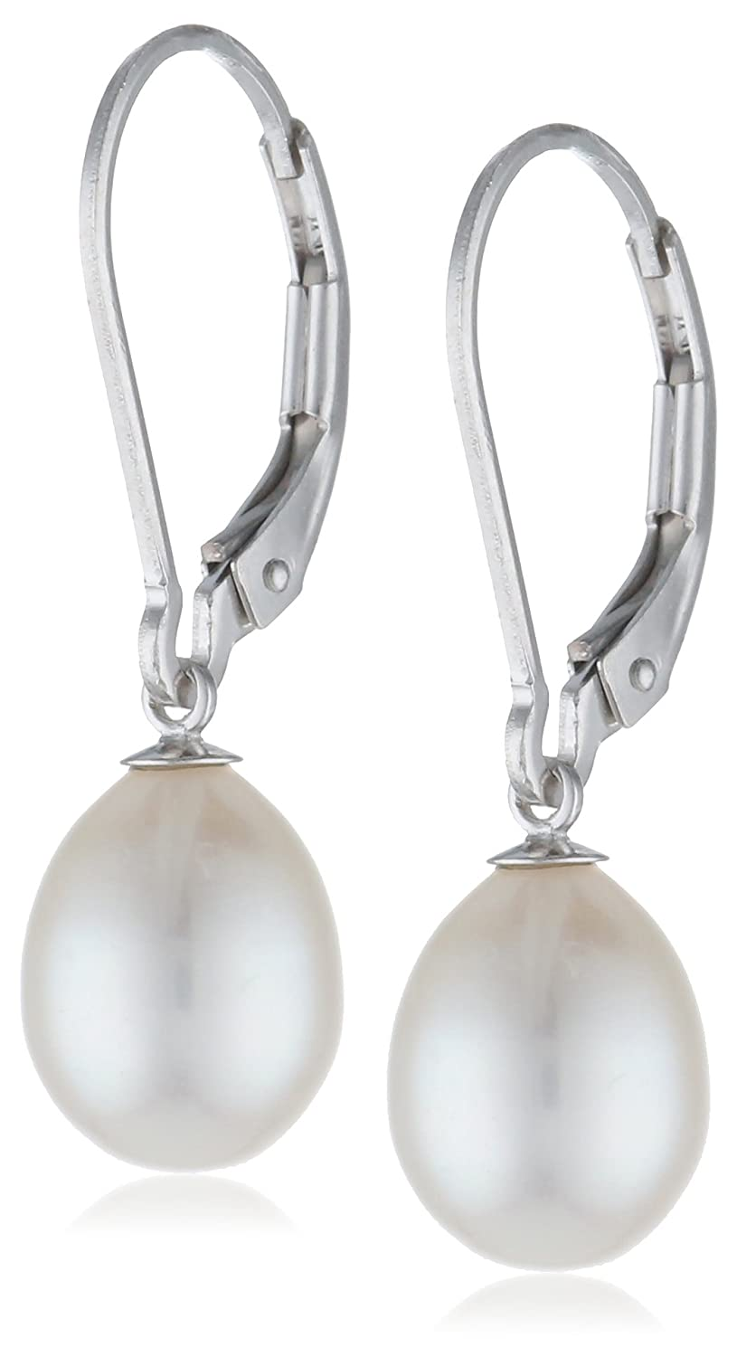 6846877ac0cfa1 Bella Pearl Earrings with Three Pairs of Interchangeable Pearls (7-7.5 mm)  best