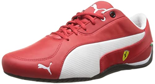 Puma Drift Cat 5 SF - Zapatillas de cuero hombre, Rojo (Rouge), 47: Amazon.es: Zapatos y complementos