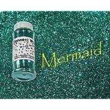 Mermaid, Extra Fine Poly Glitter 1/128, 4oz Shaker Bottle