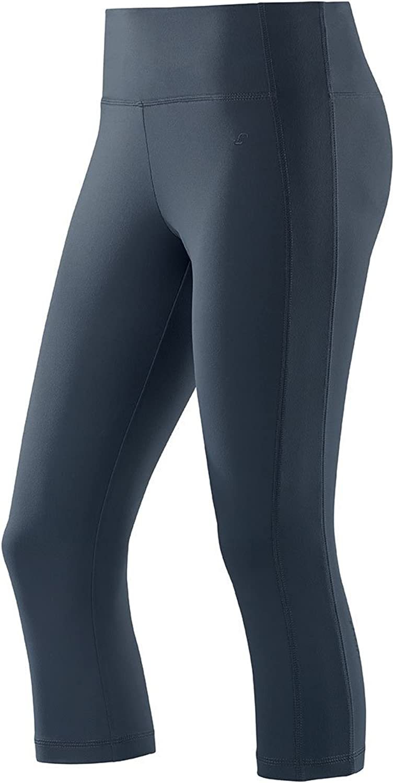 Joy Sportswear Damen Body Fit Stretch Sport Fitness 3//4 Hose Susanna Night Blau