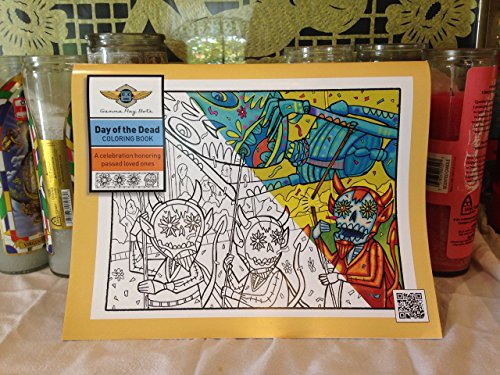 Day of the Dead coloring book. A collection