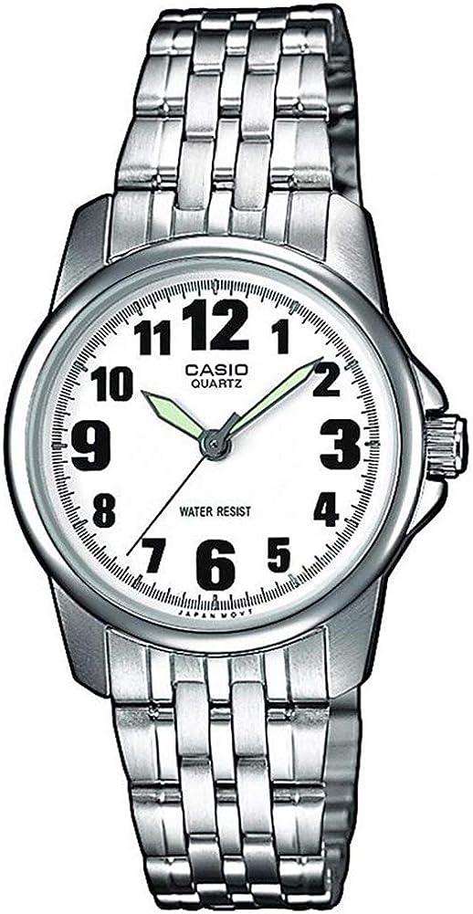 Casio Reloj Analógico de Cuarzo para Mujer con Correa de Acero Inoxidable – LTP-1260PD