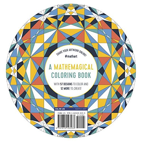 Amazon Patterns Of The Universe A Coloring Adventure In Math And Beauty 9781615193233 Alex Bellos Edmund Harriss Books