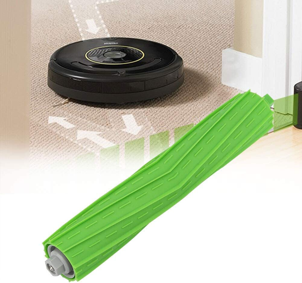 Tarente Filter Parts Replacement for irobot Roomba i7 E5 E6 HEPA Filters Green Side Roller Brushes