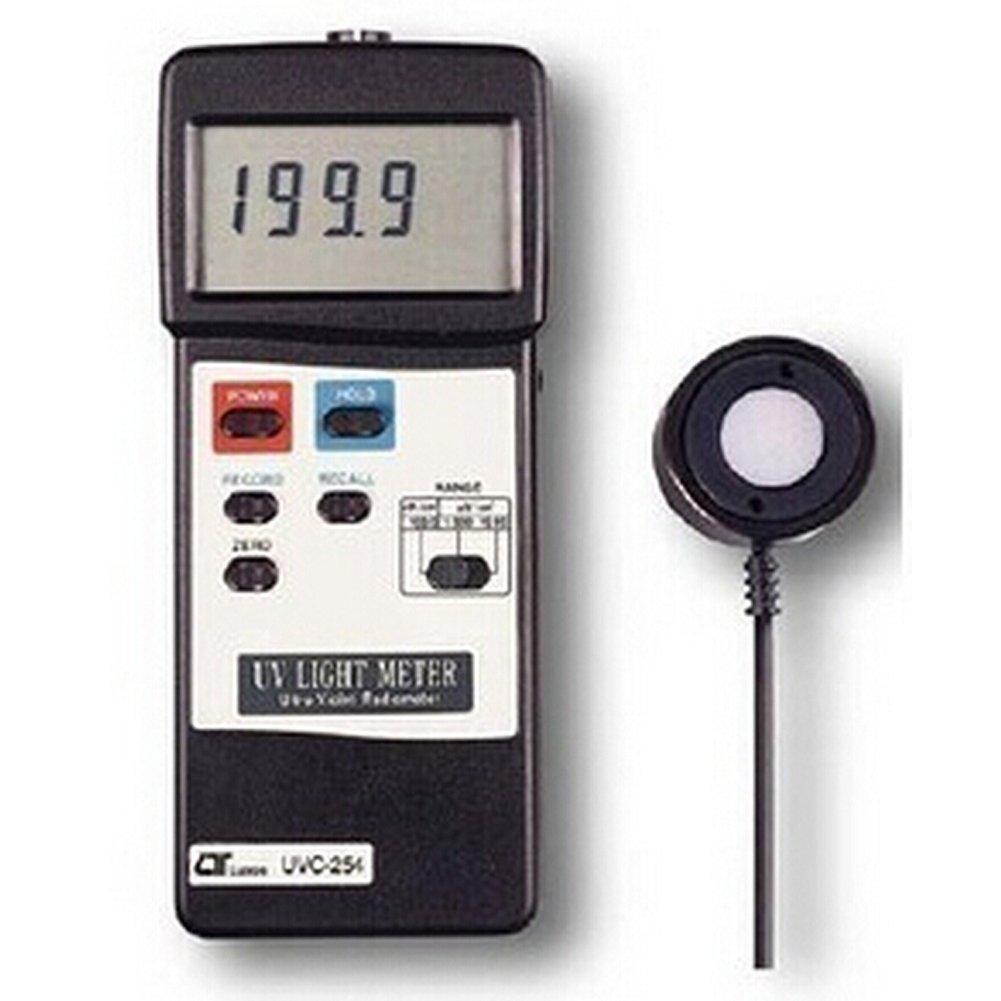 UVC254 UVC Light Meter 0-199.9uW/cm²,0-1.999mW/cm²,0-19.99mW/cm²,254nm Wave Length UVC 254 UVC-2541