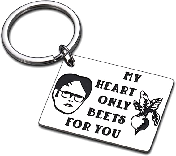 Funny  Keychain Office TV Show Gifts fo The Office Fans