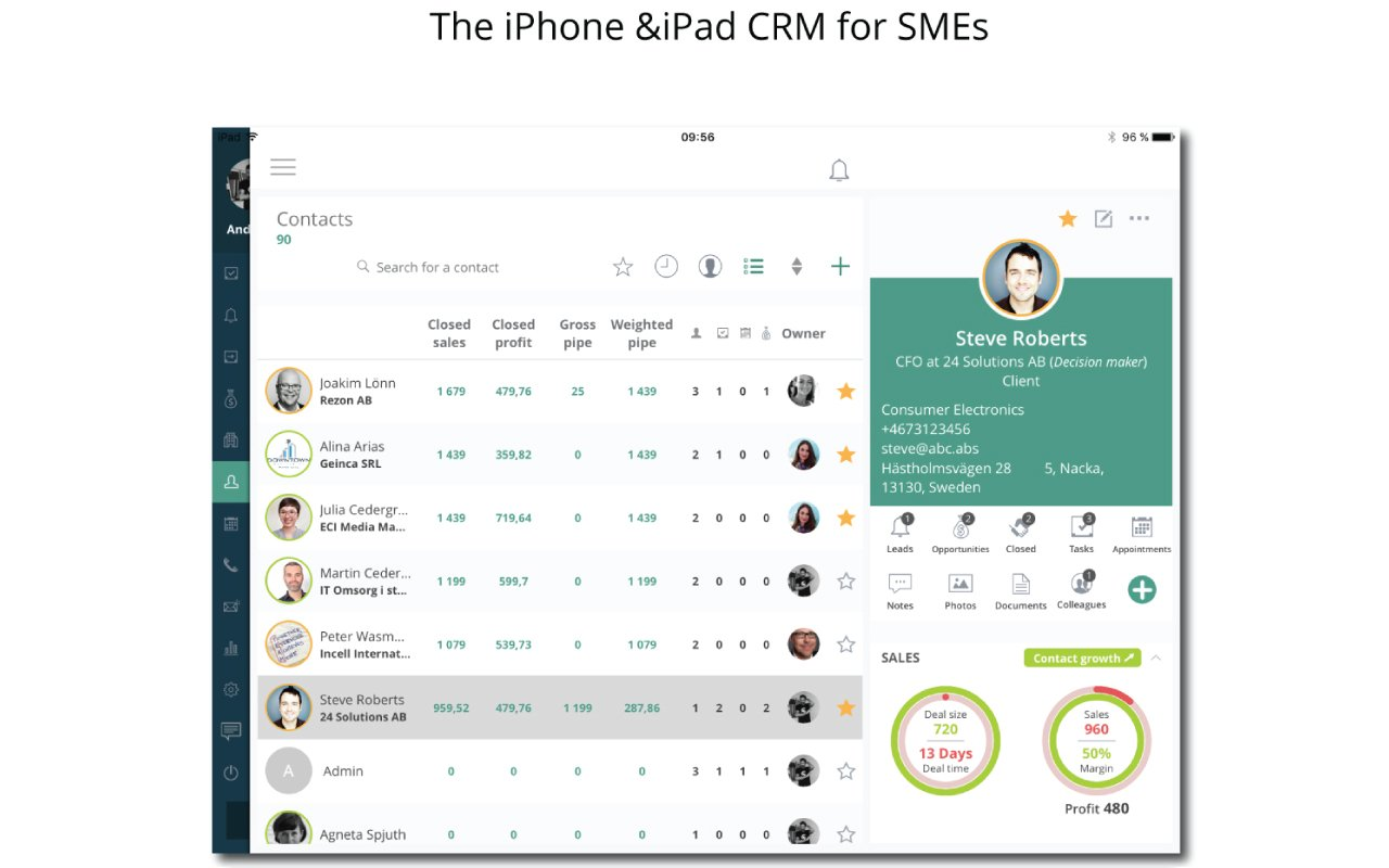 Salesbox CRM - 3 User Package by Salesbox CRM