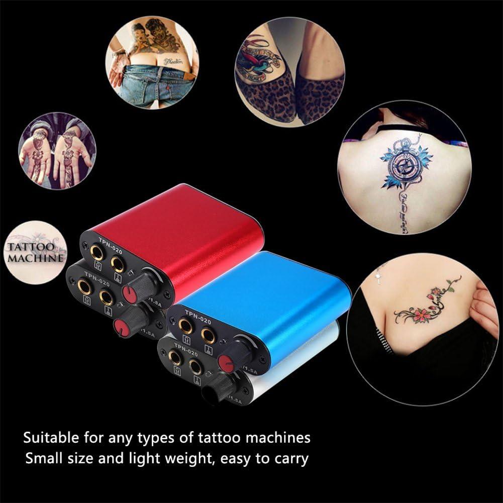Mini fuente de alimentación del tatuaje, fuente de alimentación de ...