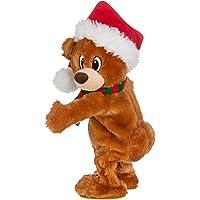 Gemmy Twerking Christmas Bear Bluetooth Plush