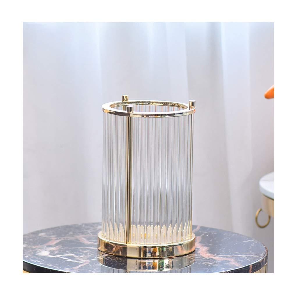 ガラス花瓶 垂直の穀物透明の大きなガラスの花瓶家の結婚式の装飾(29 * 19センチメートル) B07T4FGKLW