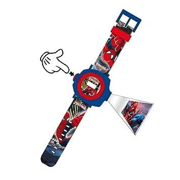 Reloj Digital Proyector Spiderman: Amazon.es: Juguetes y juegos