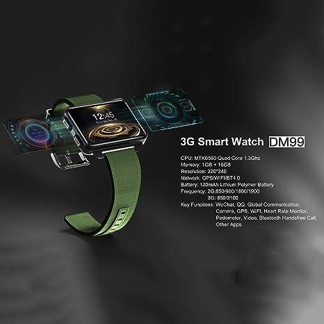 Bbiao Smart Watch Dm99 Upgrade Dm98 Lem4 Pro Smartwatch 2.2 ...