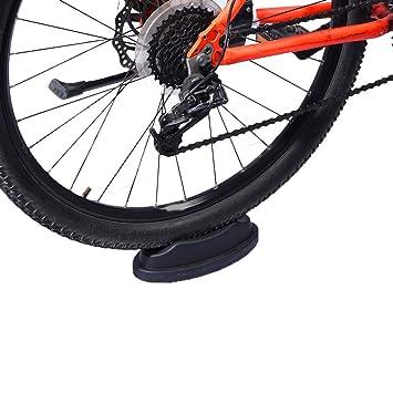 eecoo Bloque Elevador de Rueda Delantera para Bicicleta, estabilizador, Soporte Turbo para Bicicleta, Entrenamiento, Entrenamiento en Bicicleta de Interior: ...