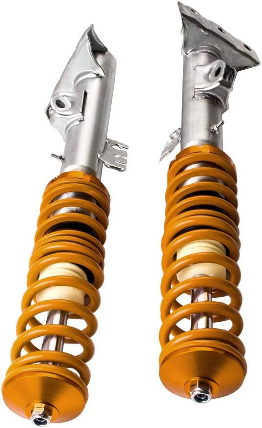 maXpeedingrods for BMW E36 Coilovers Street Lowering Shock Suspension for BMW E36 316i 318i 318is 318ic 323i 323ic 323is 328i 328is 328ic M3 Yellow