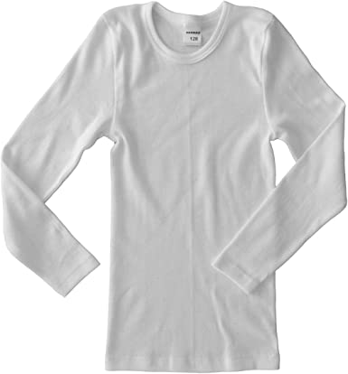 Girls HERMKO 2810-3 Kids Short Sleeve Shirts Made Out of Cotton for Boys