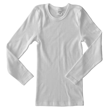 67ee40f9eb7058 HERMKO 2830 Kinder langarm Shirt aus 100% Bio-Baumwolle