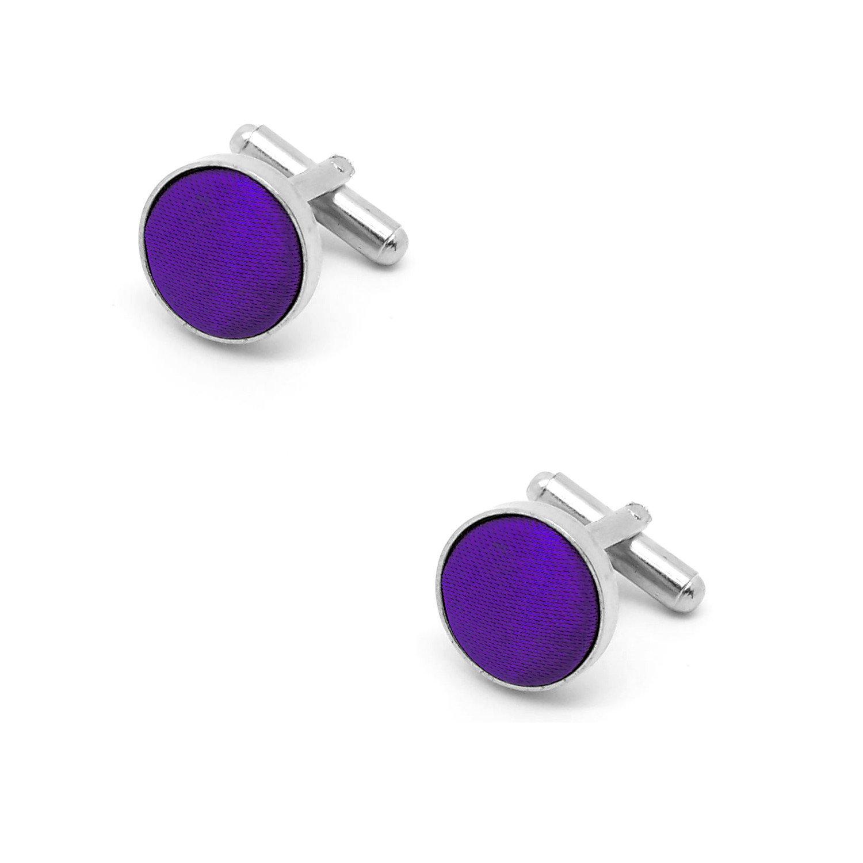manchettes boutonni/ères violettes Boutons de manchette violet