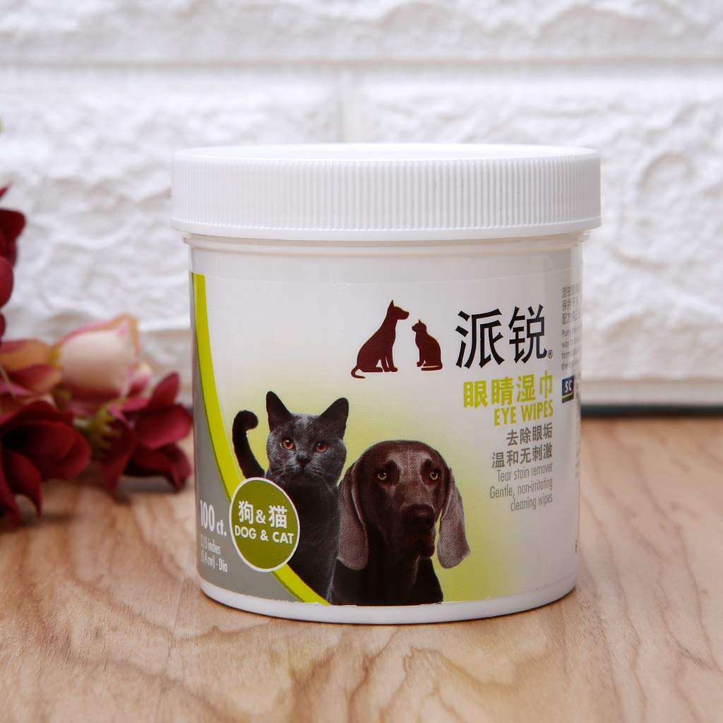 gatitos cachorros no irritantes Aawsome 1 caja de toallitas h/úmedas para eliminar manchas de ojos de mascotas gatos toallas de papel no t/óxicas para perros toallitas suaves